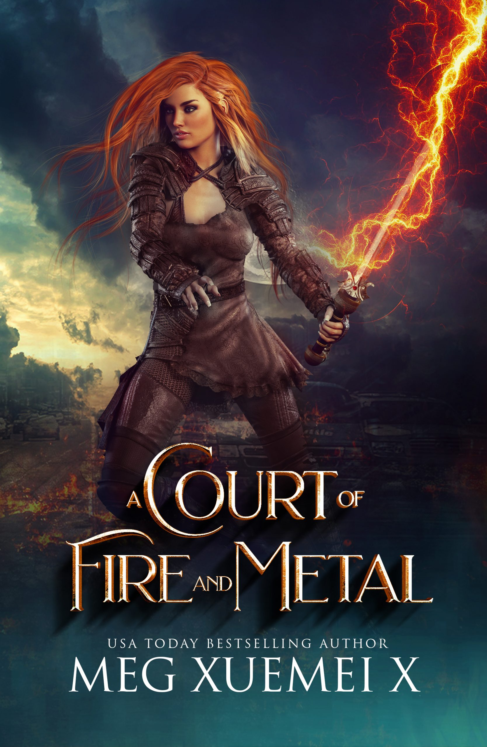 A Court of Fire less red
